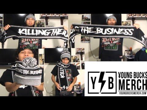 06d0072fe405e Young Bucks Merch Unboxing