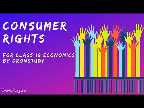 Consumer Rights : CBSE Class 10 X Social Science (Economics)