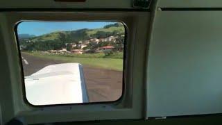 Hard Landing | Hummingbird Air Beech 99 Airliner Full Approach ✈ Arrival