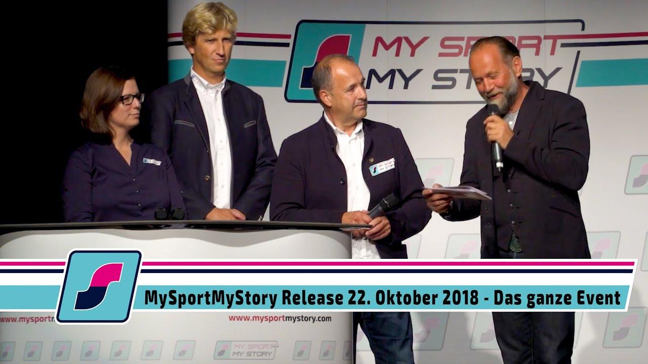 MySportMyStory Release am 22. Oktober 2018  - Das ganze Event