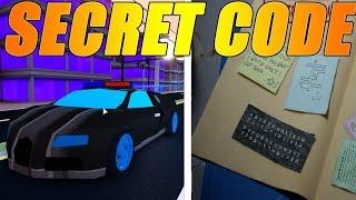 How To Get New *Secret* Armor TEXTURE In Roblox Jailbreak