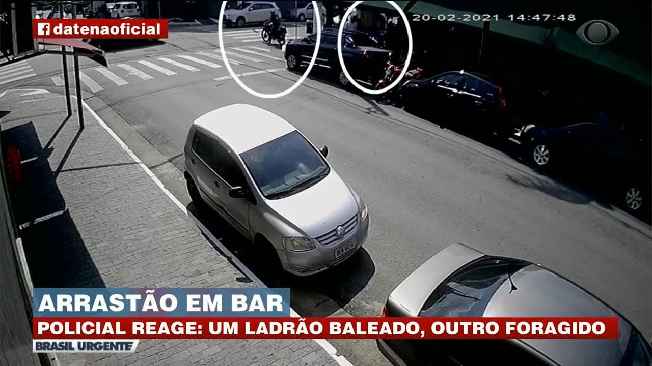 TIROTEIO: ARRASTÃO EM BAR NA ZONA LESTE DE SÃO PAULO