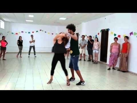 Camila Alves & Enrique Matos  Forró at Festival Pé na Terra 2015
