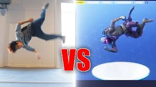 Fortnite Dances in Real Life | Gong Bao