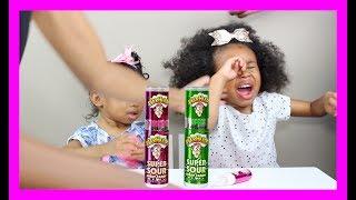 Warheads Super Sour Spray Taste Test GONE WRONG 😫