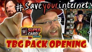 WWE SUPERCARD | Undertaker ist da | TBG Pack Opening | #SaveYourInternet | AJ TRTG | deutsch