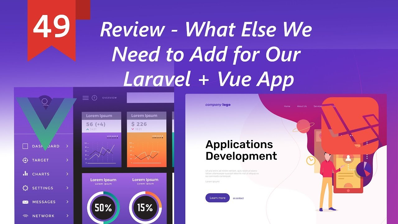 Review - What Else We Need to Add for Our Laravel + Vue App
