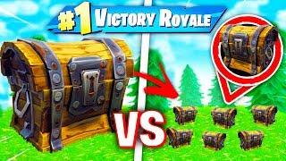 *NEU* RIESEN TRUHE vs MINI TRUHE in Fortnite Battle Royale