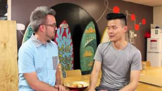"""Zapętlaj Bryce Ives and David Fung on """"What Bach Means To Me"""" 