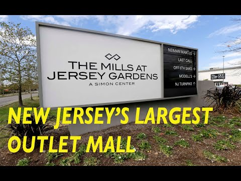 THE MILLS AT JERSEY GARDENS,NJ-NEW JERSEY'S LARGEST OUTLET MALL-THE JERSEY GARDENS MALL-AMAZING DEAL