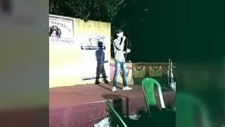 """RaftaaR's """"Swag Mera Desi Hai"""" live cover by YR Soham in 'Matri-Sangathan Club' at Palashi Farakka"""