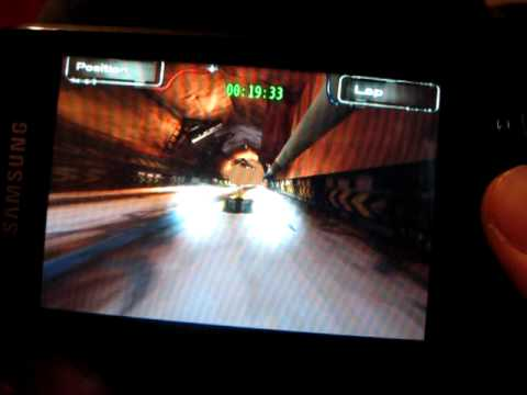 Samsung Galaxy Spica Games: Speed Forge 3D