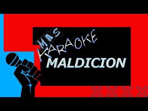 LA BOMBA - MALDICION (KARAOKE)