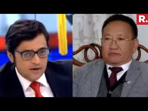 Nagaland CM T R Zeliang Speaks To Arnab Goswami | North East Elections 2018