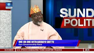 Adebayo Shittu Alleges Ajimobi Does Not Have NYSC Certificate Pt 1 | Sunday Politics |
