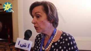 بالفيديو : مديرة وكالة الأنباء الأسبانية : على وسائل الإعلام تبنى دورا بناء فى مكافحة الإرهاب