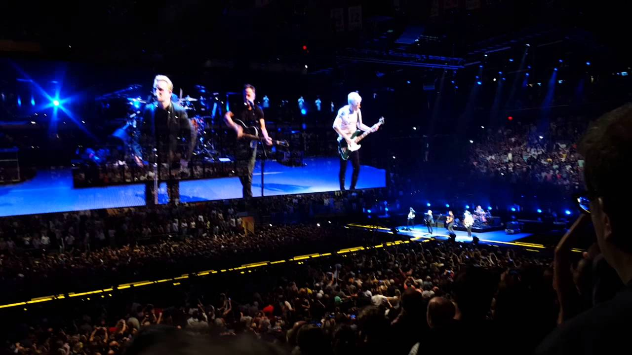 U2 And Bruce Springsteen Madison Square Garden Youtube