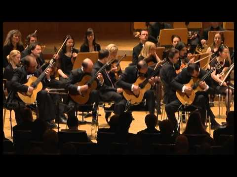 RODRIGO- CONCIERTO ANDALUZ for Four Guitars and Orchester