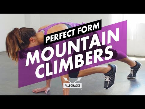 How to Do Mountain Climbers + Mistakes & Variations