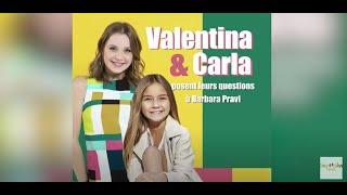 Valentina & Carla - interview Barbara Pravi: Eurovision, Céline Dion, astro,  .. (English subtitles)