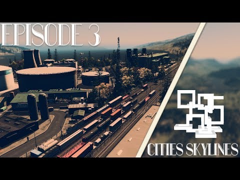 Cities Skylines: Alexandria | Episode 3 | Alexandria Power Station