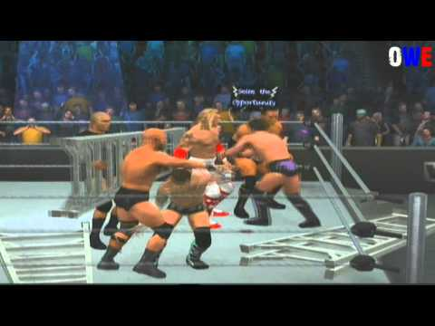 WWE Smackdown vs. Raw 2011 Extreme Rules Match + Ladder Match