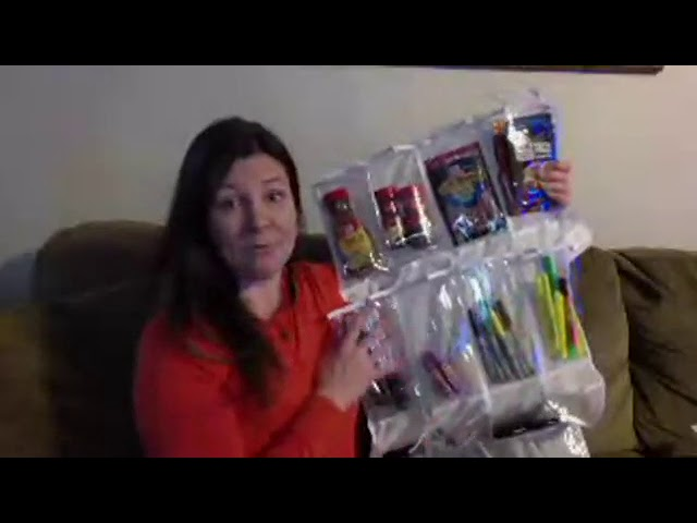Cheap tool to organize: How to use clear shoe organizers to organize all around the house