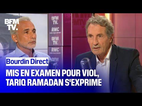 BOURDIN DIRECT - Mis en examen pour viol, Tariq Ramadan s'exprime