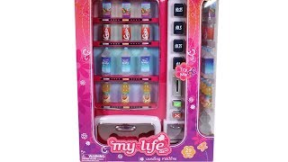 My Life As Vending Machine Unboxing Toy Review 18 Inch Doll Accessories