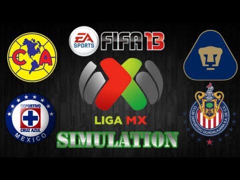 FIFA 13 | America vs. Cruz Azul - Pumas vs. Chivas | J9 Simulations