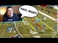 I ran hail mary every play to defeat a very angry trash talker!