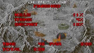 Ultimate Doom: The Shores of Hell (Episode 2) - Nightmare! Speedrun in 3:38 (4:14)