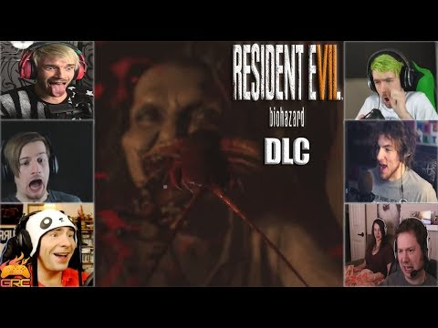 Gamers Reactions to Marguerite Kissing Clancy (Bedroom DLC) | Resident Evil 7: Biohazard DLC