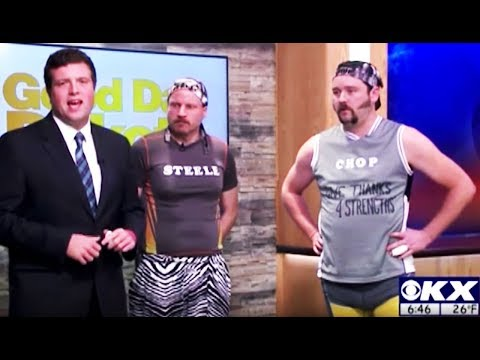 VIDEO: 'Chop and Steele,' Local Cable News Pranksters Chop Sticks & Do Curls With Vats of Gravy