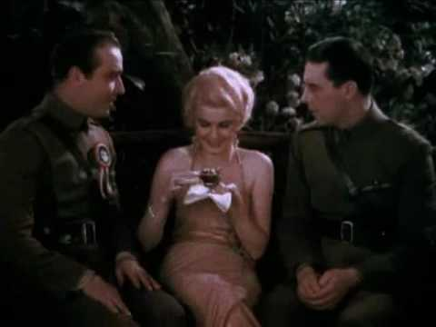 Color Footage Jean Harlow Hells Angels