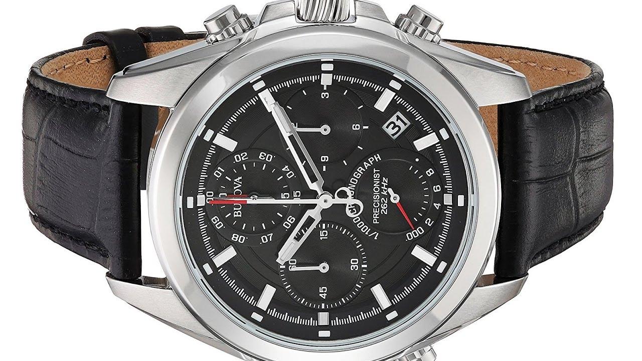 4226e5966 Bulova Men's 96B259 Precisionist Chronograph Watch - YouTube