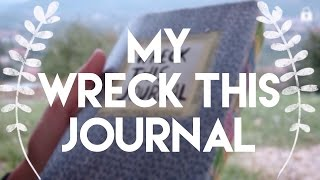My Wreck This Journal / Paralama Defteri | tardisayraclikiz