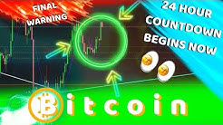 BITCOIN COUNTDOWN BEGINS!! BTC PRICE WILL EXPLODE IF THIS HAPPENS WITHIN 24 HOURS!!!!