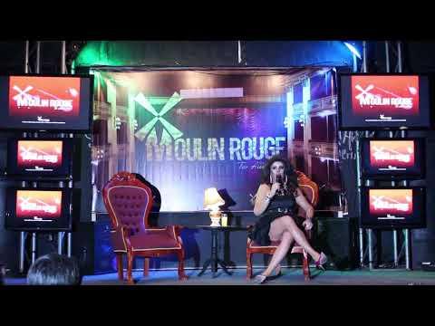 """Reina Del Café Concert"" en Moulin Rouge, Quillota."