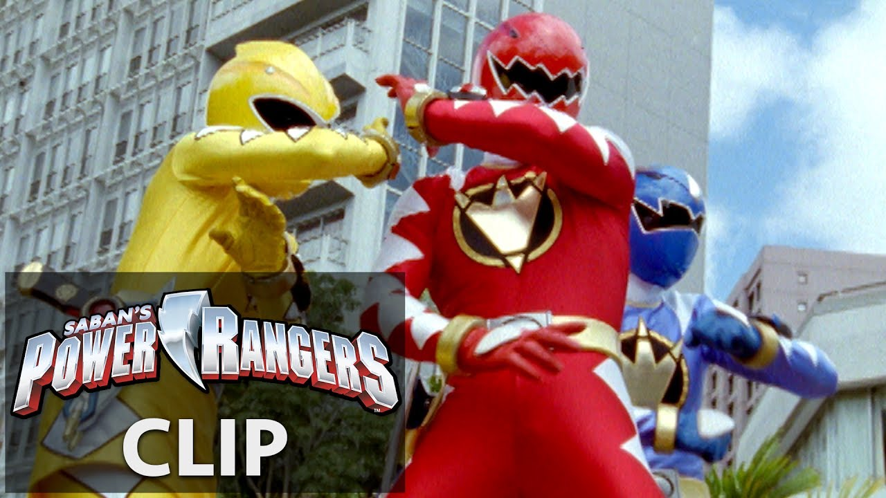 Dino Thunder Rangers Escapa De Zeltrax - YouTube