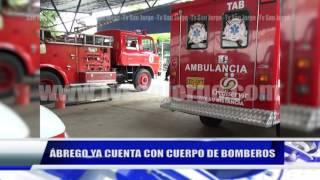 ÁBREGO YA CUENTA CON CUERPO DE BOMBEROS