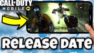 Call of Duty Mobile Zombies Release Date!!   OFFICIAL RELEASE DATE for Call of Duty Mobile Zombies