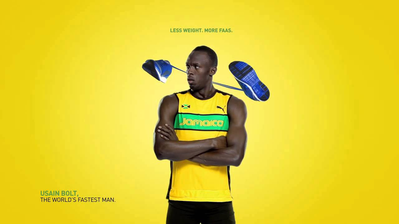 Corrección continuar Detector  Puma AD with Usain Bolt HD - YouTube