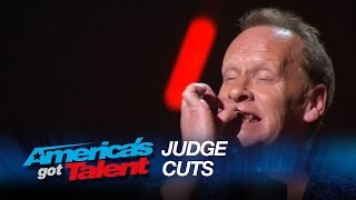 The Regurgitator: Performer Swallows Sharp Blade and Brings It Back Up - America's Got Talent 2015