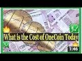 What Is The Cost Of OneCoin Today