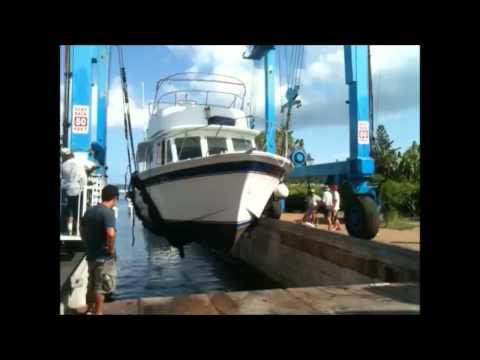 Boats Stored For Hurricane Sept 6 2012