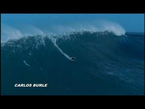 Big Wave ♕ Carlos Burle ♕ Surf Tsunami Hawaii HD