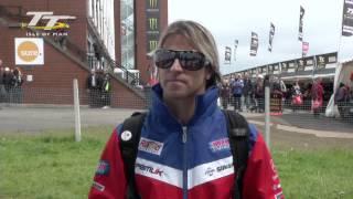 Isle of Man TT 2012 - James Ellison