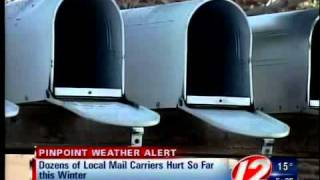 Dozens of mail carriers hurt so far this winter