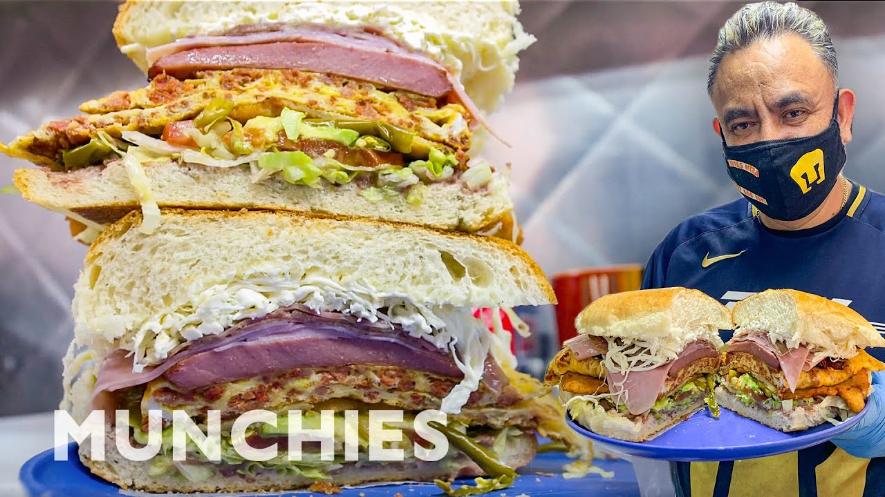 Download The Biggest Tortas in NYC | Street Food Icons